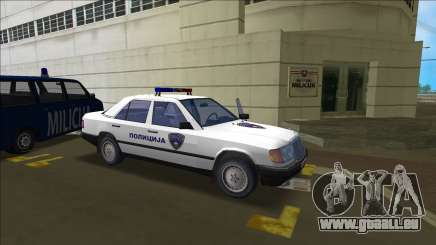 Nord Police Macédonienne Mercedes pour GTA Vice City