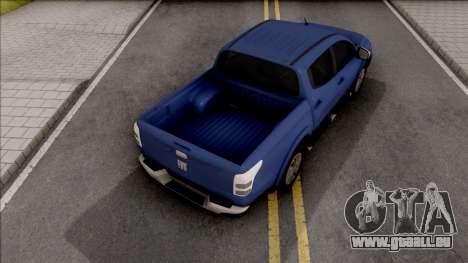 Fiat Fullback für GTA San Andreas