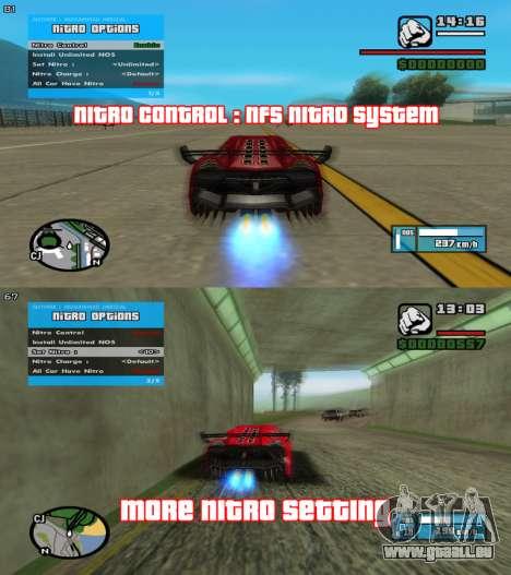 RZL-Trainer v3.1.2 - cheat menu comme GTA 5 pour GTA San Andreas