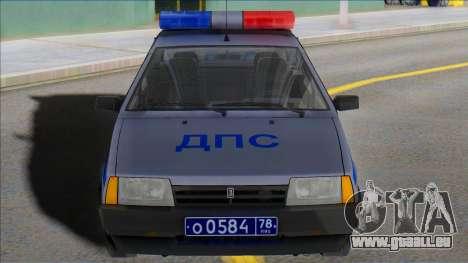Vaz 2109 DPS st. Petersburg für GTA San Andreas