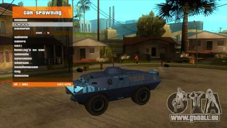 R'-TRAINER V2.0.1 - cheat menu pour GTA San Andreas