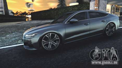 Audi A7 2020 für GTA San Andreas