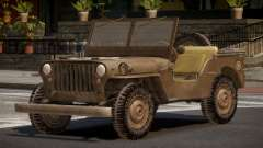 Jeep Willys FR