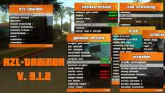 RZL-Trainer v3.1.2 - cheat menu comme GTA 5