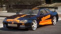 Nissan Skyline R34 BS PJ3 pour GTA 4