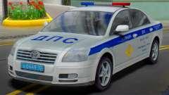 Toyota Avensis SUR la police de la circulation