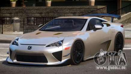 Lexus LFA RT pour GTA 4