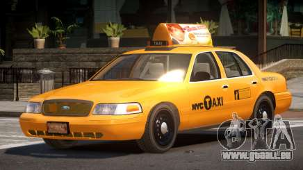 Ford Crown Victoria LS Taxi pour GTA 4