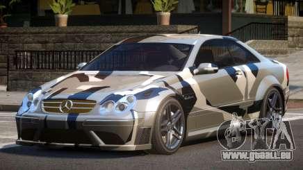 Mercedes Benz CLK63 SR PJ4 pour GTA 4