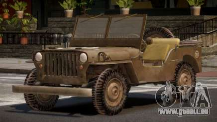 Jeep Willys FR pour GTA 4