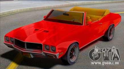 1970 Buick GS Cabrio - Juice WRLD Edition für GTA San Andreas