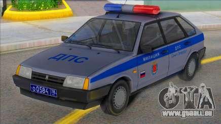 Vaz 2109 DPS Saint-Pétersbourg pour GTA San Andreas