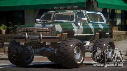 Chevrolet Blazer Custom PJ2 pour GTA 4