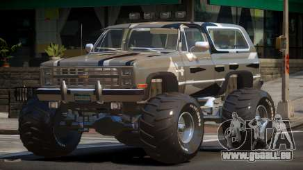 Chevrolet Blazer Custom PJ4 pour GTA 4
