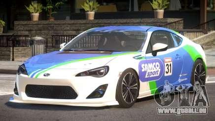 Subaru BRZ GT Sport PJ2 pour GTA 4