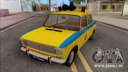 VAZ 2101 POLICE DE LA CIRCULATION 1975 pour GTA San Andreas