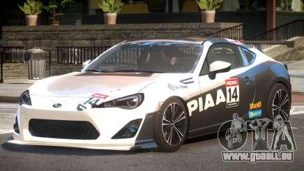 Subaru BRZ GT Sport PJ4 pour GTA 4