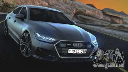 Audi A7 2020 pour GTA San Andreas
