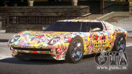 Lamborghini Miura SC PJ1 für GTA 4