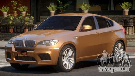 BMW X6M NR V1.0 pour GTA 4