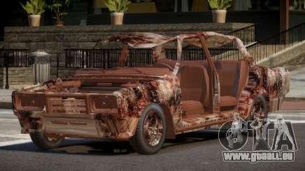 VAZ 2107 Rusty pour GTA 4