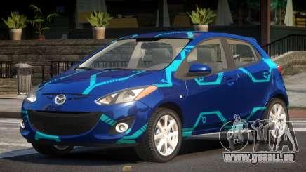 Mazda 2 RS PJ2 pour GTA 4