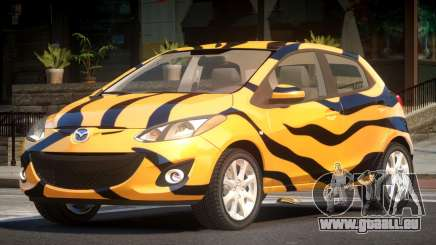 Mazda 2 RS PJ5 pour GTA 4