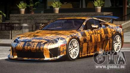 Lexus LFA RT PJ2 pour GTA 4