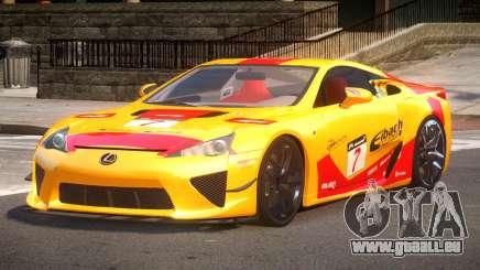 Lexus LFA Nurburgring Edition PJ4 für GTA 4