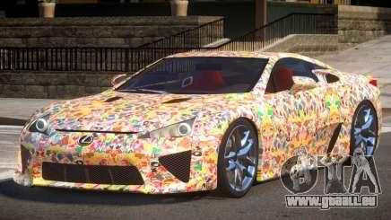 Lexus LFA R-Tuned PJ5 pour GTA 4