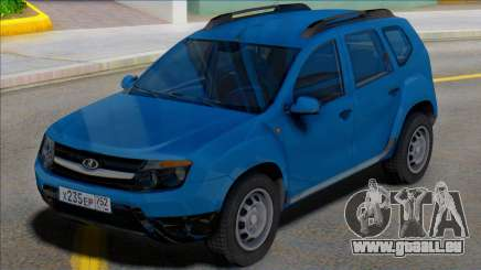 Lada Duster Russian Plates pour GTA San Andreas