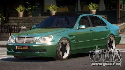 Mercedes Benz S550 V1.1 pour GTA 4