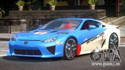 Lexus LFA Nurburgring Edition PJ5 für GTA 4