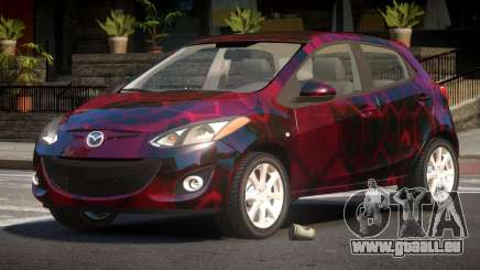 Mazda 2 RS PJ3 pour GTA 4