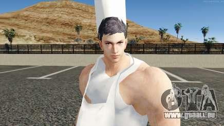 Claudio Serafino Chef De Tekken 7 pour GTA San Andreas