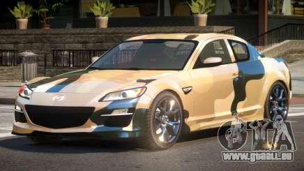 Mazda RX8 L-Tuned PJ3 für GTA 4