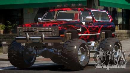Chevrolet Blazer Custom PJ6 pour GTA 4