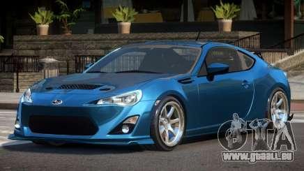 Subaru BRZ E-Style pour GTA 4