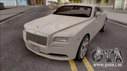 Rolls-Royce Wraith 2014 Grey für GTA San Andreas