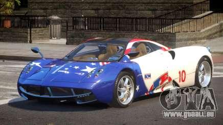 Pagani Huayra BS PJ2 für GTA 4