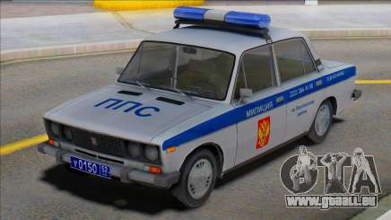 Vaz 2106 PPP Police pour GTA San Andreas