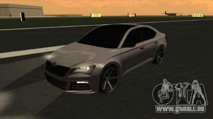 Skoda Superb Style pour GTA San Andreas