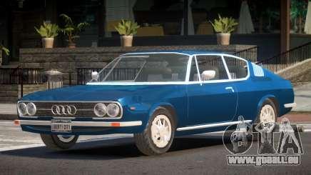 1972 Audi 100 HK pour GTA 4