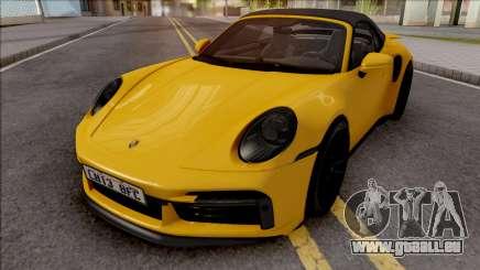 Porsche 911 Turbo S Cabrio (992) für GTA San Andreas