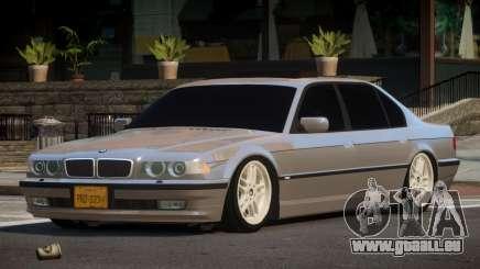 1996 BMW 750iL E38 pour GTA 4