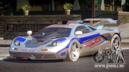 McLaren F1 Police V1.0 für GTA 4