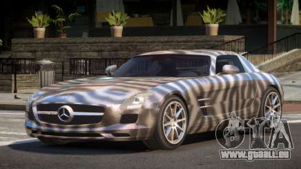 Mercedes Benz SLS AMG GS PJ4 für GTA 4