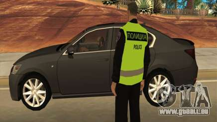 Officier de police macédonien pour GTA San Andreas