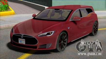 Tesla Model S Wagon pour GTA San Andreas