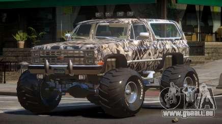 Chevrolet Blazer Custom PJ1 pour GTA 4